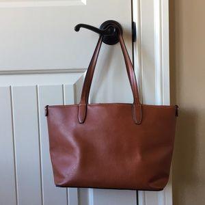 Handbags - Brown Shoulder Handbag